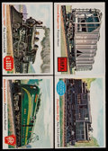 Non-Sport Cards:Sets, 1955 Topps Rails and Sails Partial Set (80/200)....