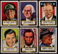 Non-Sport Cards:Sets, 1952 Topps Look-N-See Complete Set (135)....