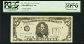 Error Notes:Obstruction Errors, Fr. 1973-D $5 1974 Federal Reserve Note. PCGS Choice About New58PPQ.. ...