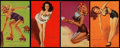 "Non-Sport Cards:Singles (Pre-1950), 1940's Mutoscope ""Artist Pin Up Girls"" Complete Set (64)...."