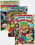 Modern Age (1980-Present):Superhero, Marvel Team-Up Long Box Group (Marvel, 1980s) Condition: AverageVF....