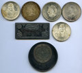 Mexico, Mexico: Republic Group of 5 Coins and 2 CommemorativeMedallions,... (Total: 7 coins)