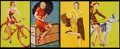 """Non-Sport Cards:Sets, 1940-45 Mutoscope """"Glamour Girls"""" Complete Set (32)...."""