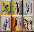 "Non-Sport Cards:Sets, 1952 Topps ""Wings"" Complete Set (200). ..."