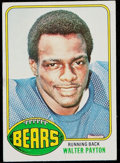 Football Cards:Singles (1970-Now), 1976 Topps Walter Payton Rookie Card #148 Plus CommemorativeCoin....