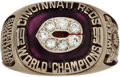 Baseball Collectibles:Others, 1990 Cincinnati Reds World Series Championship Lady's Ring....