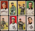 Baseball Cards:Lots, 1909-11 T206 Piedmont, Hindu and Old Mill Southern Leaguers (8). ...