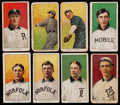 Baseball Cards:Lots, 1909-11 T206 Piedmont, Hindu and Old Mill Southern Leaguers (8)....