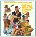 "Movie Posters:James Bond, The Man with the Golden Gun (United Artists, 1974). Six Sheet (81"" X 81"").. ..."