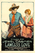 "Movie Posters:Western, Lawless Love (Fox, 1918). One Sheet (28"" X 42"").. ..."