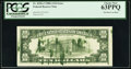 Error Notes:Ink Smears, Fr. 2028-J $10 1988A Federal Reserve Note. PCGS Choice New 63PPQ.....