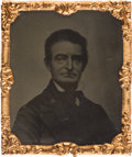 Photography:Tintypes, John Brown: Circa 1861 Abbott Tintype....