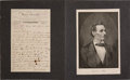 Autographs:Celebrities, [Abraham Lincoln]: 1895 Alexander Hesler Autograph LetterSigned.... (Total: 2 Items)