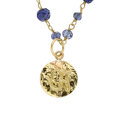 Estate Jewelry:Necklaces, Iolite, Gold Necklace, Patricia Makena. ...