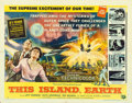 "Movie Posters:Science Fiction, This Island Earth (Universal International, 1955). Half Sheet (22""X 28"") Style A.. ..."