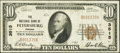 National Bank Notes:Virginia, Petersburg, VA - $10 1929 Ty. 1 The NB of Petersburg Ch. # 3515....