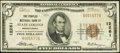 National Bank Notes:Pennsylvania, State College, PA - $5 1929 Ty. 1 The Peoples NB Ch. # 12261. ...