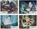 Memorabilia:Movie-Related, King Kong and Tarzan the Ape Man Movie Lobby CardsGroup of 15 (Paramount/United Artist, 1976/1981).... (Total: 15Items)