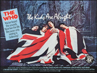 "The Kids Are Alright (New World, 1979). British Quad (30"" X 40""). Rock and Roll"