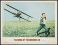 """Movie Posters:Hitchcock, North by Northwest (MGM, 1959). Lobby Card (11"""" X 14""""). Hitchcock.. ..."""