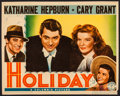"""Movie Posters:Comedy, Holiday (Columbia, 1938). Trimmed Lobby Card (10.75"""" X 13.5"""").Comedy.. ..."""
