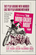 """Movie Posters:Exploitation, The Mini-Skirt Mob & Others Lot (American International, 1968).One Sheets (3) (27"""" X 41""""). Exploitation.. ... (Total: 3 Items)"""