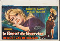 """Movie Posters:Foreign, Love on a Pillow (Royal Films International, 1963). Belgian (15"""" X 21.5""""). Foreign.. ..."""