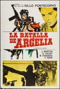 """Movie Posters:Foreign, The Battle of Algiers (Norma, 1968 & R-1980s). Argentinean One Sheets (2) (29"""" X 43""""). Foreign.. ... (Total: 2 Items)"""