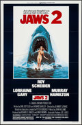 """Movie Posters:Horror, Jaws 2 (Universal, 1978). One Sheet (27"""" X 41"""") Flat Folded. Horror.. ..."""