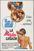 """Movie Posters:Foreign, Une Femme Mariée (Columbia, 1964). Spanish Language One Sheet (27"""" X 41""""). Foreign.. ..."""