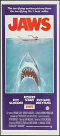 "Movie Posters:Horror, Jaws (Universal, 1975). Australian Post-War Daybill (13.25"" X 30""). Horror.. ..."