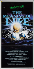 "Movie Posters:Comedy, Monty Python's The Meaning of Life (Universal, 1983). Australian Post-War Daybill (13.25"" X 26.5""). Comedy.. ..."