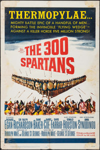"""The 300 Spartans (20th Century Fox, 1962). One Sheet (27"""" X 41""""). Action"""
