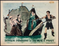"Movie Posters:Swashbuckler, The Black Pirate (United Artists, 1926). Lobby Card (11"" X 14""). Swashbuckler.. ..."