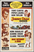 "Movie Posters:Action, Johnny Dark/Man Without a Star Combo & Other Lot (UniversalInternational, R-1959). One Sheets (2) (27"" X 41""). Action.. ...(Total: 2 Items)"
