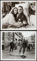 """Movie Posters:Horror, The Bride of Frankenstein (Universal, R-1960s). Photos (2) (8"""" X 10""""). Horror.. ... (Total: 2 Items)"""
