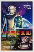 "Movie Posters:Science Fiction, The Day the Earth Stood Still (20th Century Fox, R-1994).Autographed One Sheet (27"" X 41"") SS. Science Fiction.. ..."