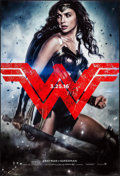 "Movie Posters:Action, Batman V Superman: Dawn of Justice (Warner Brothers, 2016). OneSheet (27"" X 40"") DS Advance Wonder Woman Style. Action.. ..."