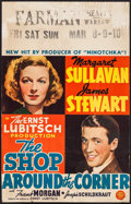 """Movie Posters:Comedy, The Shop Around the Corner (MGM, 1940). Window Card (14"""" X 22"""").Comedy.. ..."""