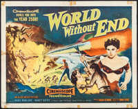 """World Without End (Allied Artists, 1956). Half Sheet (22"""" X 28"""") Style A. Science Fiction"""