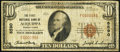 National Bank Notes:Pennsylvania, Aliquippa, PA - $10 1929 Ty. 1 The First NB Ch. # 8590. ...