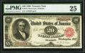 Large Size:Treasury Notes, Fr. 374 $20 1890 Treasury Note PMG Very Fine 25.. ...