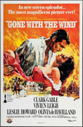 """Movie Posters:Academy Award Winners, Gone with the Wind (MGM, R-1980). One Sheet (27"""" X 41""""). AcademyAward Winners.. ..."""