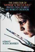 "Movie Posters:Fantasy, Edward Scissorhands (20th Century Fox, 1990). One Sheet (27"" X 40"")DS. Fantasy.. ..."