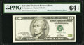 Error Notes:Obstruction Errors, Fr. Unknown $10 2001 Federal Reserve Note. PMG Choice Uncirculated64 EPQ.. ...
