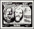 "Movie Posters:Rock and Roll, Shawn Phillips and Peter Robinson at the Armadillo WorldHeadquarters (AWH, 1976). Concert Poster (11.5"" X 13.75""). Rockand..."
