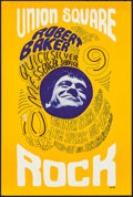 """Movie Posters:Rock and Roll, Robert Baker and the Quicksilver Messenger Service at Union Square(Union Square, 1966). Concert Poster (13.75"""" X 20.5""""). Ro..."""