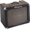 Musical Instruments:Amplifiers, PA, & Effects, 1966 Ampeg Jet J-12 Navy Blue Guitar Amplifier, Serial # 042155....