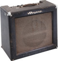 Musical Instruments:Amplifiers, PA, & Effects, Circa 1966 Ampeg Reverberocket Navy Blue Guitar Amplifier, Serial #403597....