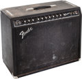 Musical Instruments:Amplifiers, PA, & Effects, 1980's Fender Concert Black Guitar Amplifier, Serial # F331616....